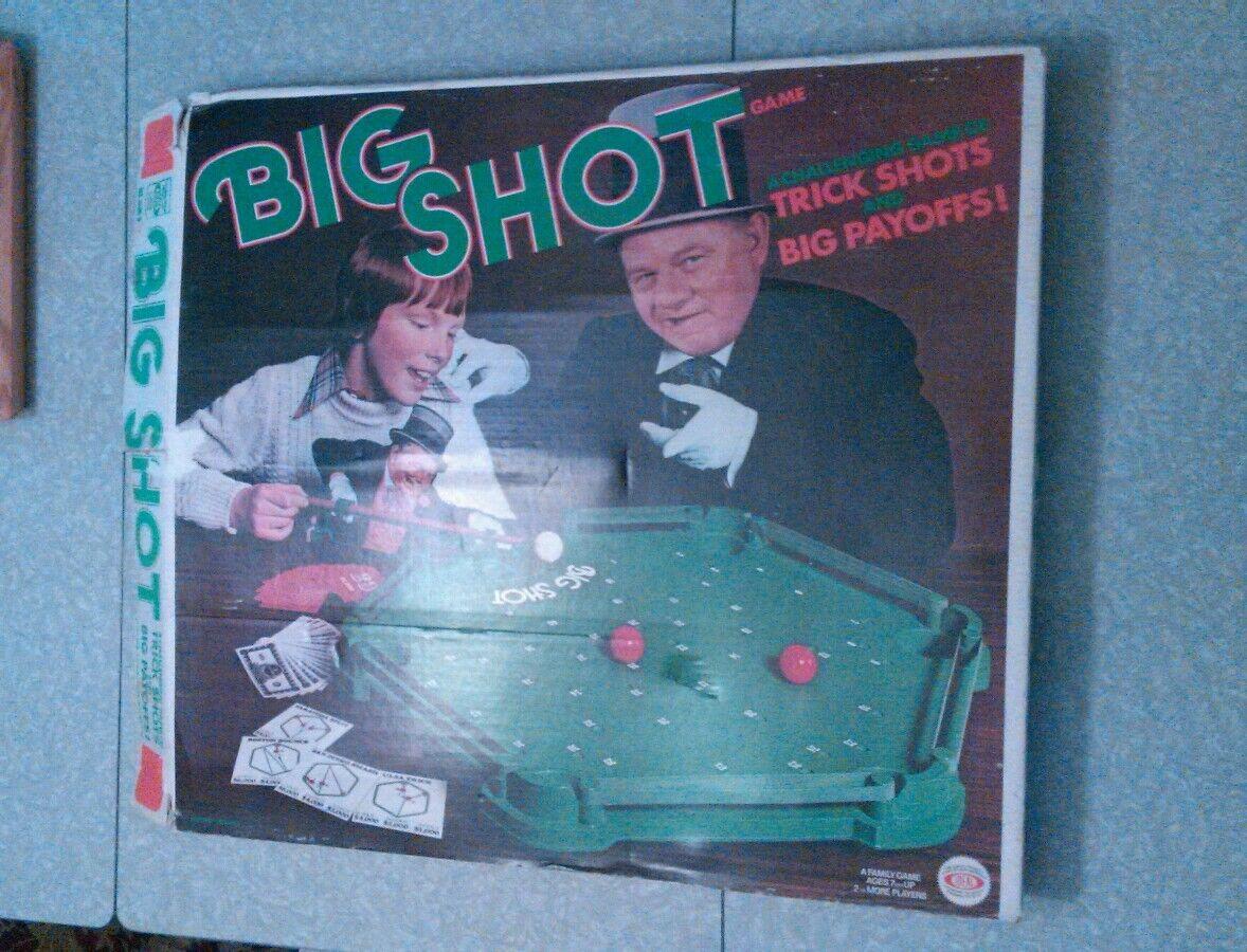 Rare Vintage 1970's Ideal Big Shot pool game.