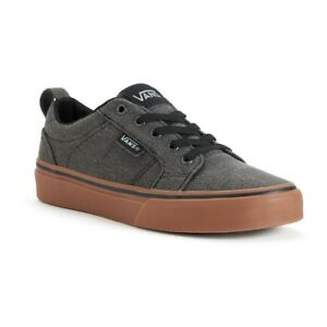 a808572e626c Image is loading VANS-Bishop-Washed-Canvas-Black-Gum-MEN-039-