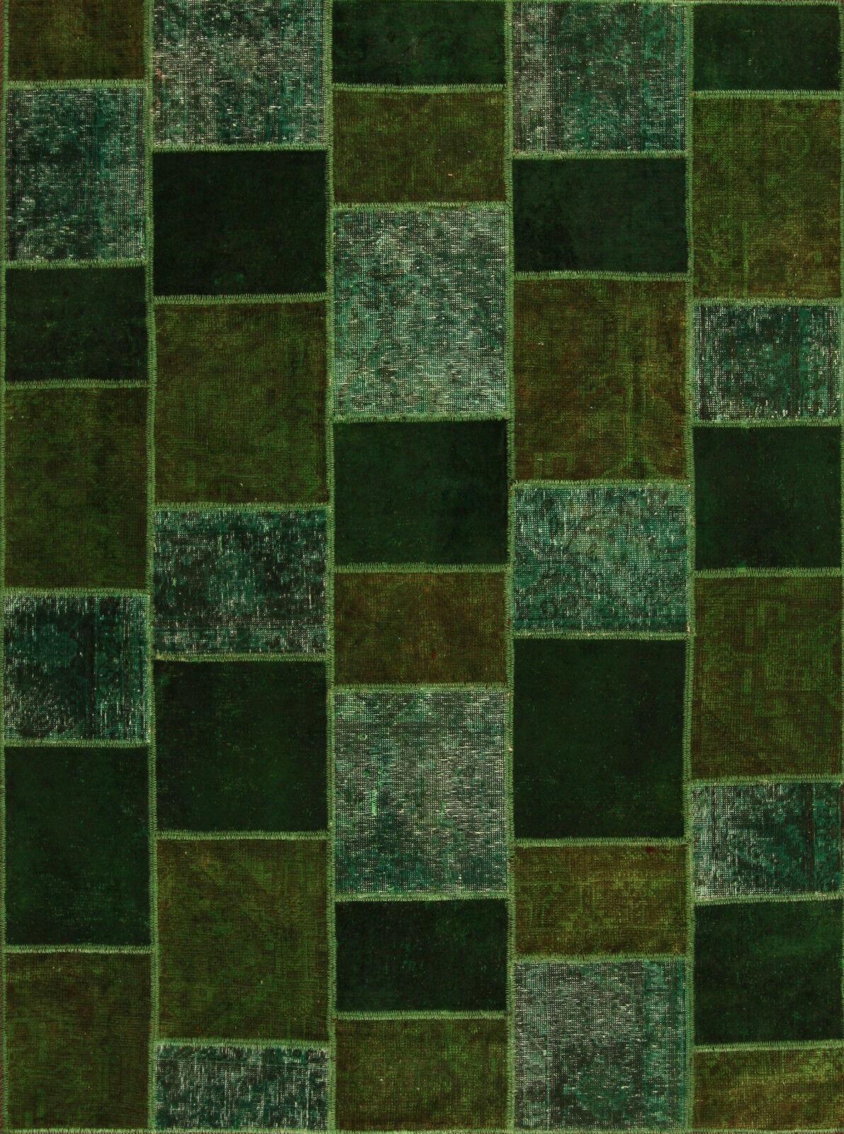 Alfombra Oriental Auténtica Anudada a mano nr. 3583 (200 x 145) cm PACHWORK