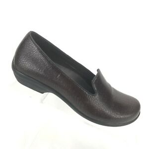 a5093415685 Dansko Olivia Cobblestone Brown Loafers Slip On Shoes Womens SIZE 36 ...