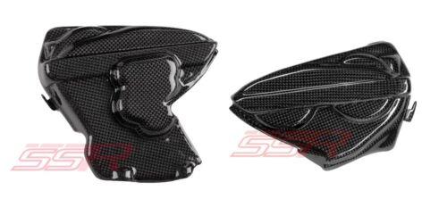 Ducati Panigale 899 Carbon Fiber Fibre Engine Panel Cover Fairing Set
