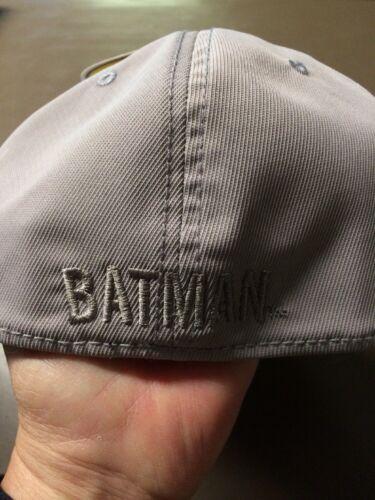 Batman Boys Grey Baseball Hat OSFM New