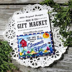 DecoWords-MAGNET-2-034-x3-034-Glamma-s-HOUSE-Fridge-Magnet-Glamorous-Grandma-Glam-Ma