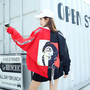 Women-Color-Joint-Japan-Lolita-Sun-Coat-Preppy-Harajuku-Girl-039-s-Sunscreen-Clothes