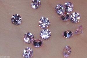 Clever Makellos 3mm If Brillantschliff Russische Labor Erstellt Pink Diamanten Um Sowohl Die QualitäT Der ZäHigkeit Als Auch Der HäRte Zu Haben