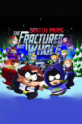 "South Park The Fractured but Whole 2 Sided Poster Wall Decor 24/""X36/"" Bran New"