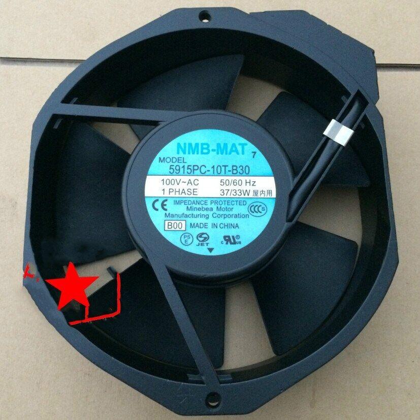 1pcs  NMB-MAT 17215038 Flow fan 5915PC-10T-B30 100VAC