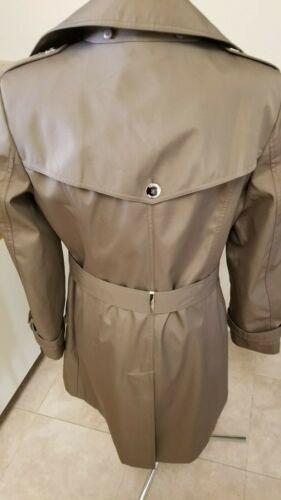 Calvin Klien trench coat with hood