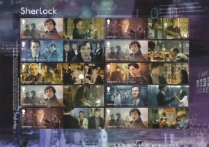 GB-2020-Sherlock-Generic-Smilers-Collector-Sheet-MNH-SG-LS126-GS-128