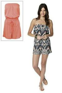 f6fc82bb097 BNWT NEW LADIES BE YOU 2 PACK PLAYSUITS SIZES 10 12   16 AZTEC DRESS ...
