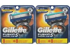 Gillette-Fusion-Proglide-Power-16-Razor-Blades-Replacement-Sealed-and-Original