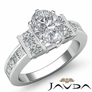 Genuine-Oval-Cut-Diamond-Engagement-Ring-GIA-Certified-F-VS2-14k-White-Gold-2-ct