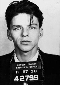 "Frank Sinatra Mugshot Photo LARGE 23/""x33/"" A1 Size Glossy Poster **UK SELLER**"