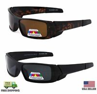 Polarized Lens Gas Sunglasses Can Wrap Around Fishing Hunting Glasses