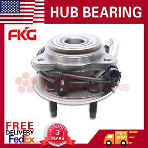Front-Wheel-Bearing-amp-Hub-For-00-2009-Ford-Ranger-Mazda-B4000-4x4-w-ABS-515003x1