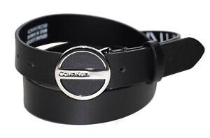 Calvin Klein 3 cm Buckle Belt Damen Ledergürtel Gürtel Gr. 85