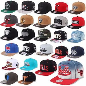 MITCHELL-amp-NESS-AND-SNAPBACK-CAP-CHICAGO-BULLS-NETS-KINGS-MAGIC-HEAT-UVM-D