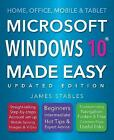 Windows 10 Made Easy: 2017 by James Stables (Paperback, 2017)