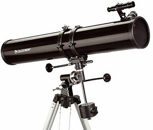 Celestron-PowerSeeker-114EQ-Reflector-Telescope-GorillaSpoke-Free-P-amp-P-Ire-amp-UK