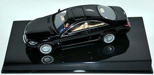 Mercedes Benz CL Klasse C 216 Coupe 2006-10 obsidian black metallic 1:43 AUTOart