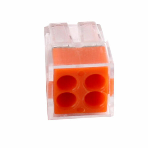 4 6 8 Holes Pole Push Electrical Cable Connector Wire Block 2