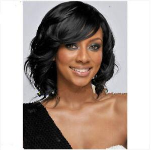 2018 Fashion Women Natural Black Sexy Short Loose Wave Hair