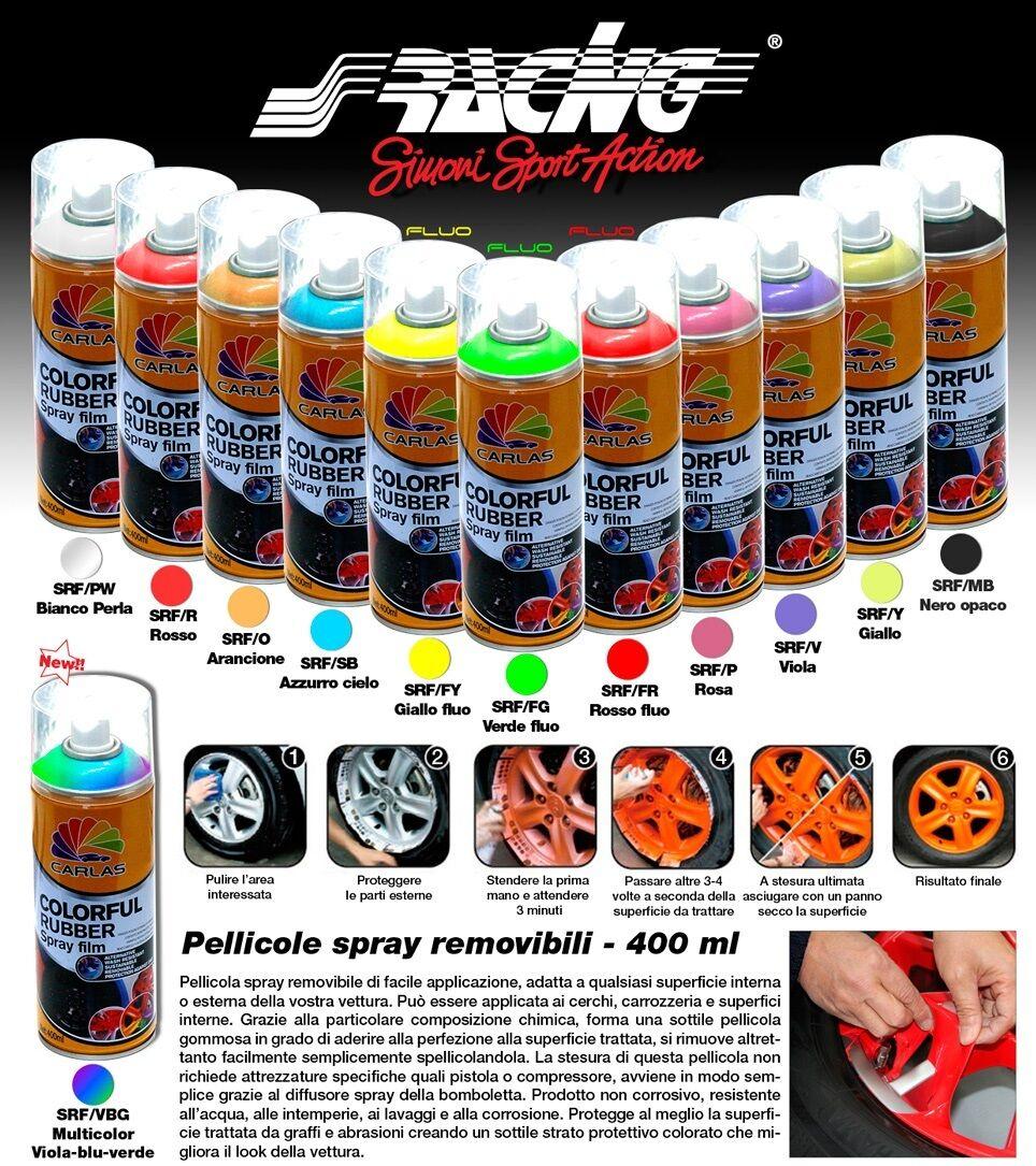Paint Removable Film Wrapping Simoni Racing 13.5 Oz Circles Car Motorbike Bike