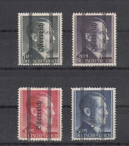 Osterreich-Nr-693-I-696-I-postfrisch-geprueft-und-Befund-Sturzeis-VOB
