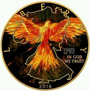 2016-1-Oz-BURNING-LIBERTY-EAGLE-Coin-WALKING-LIBERTY-999-pure-silver
