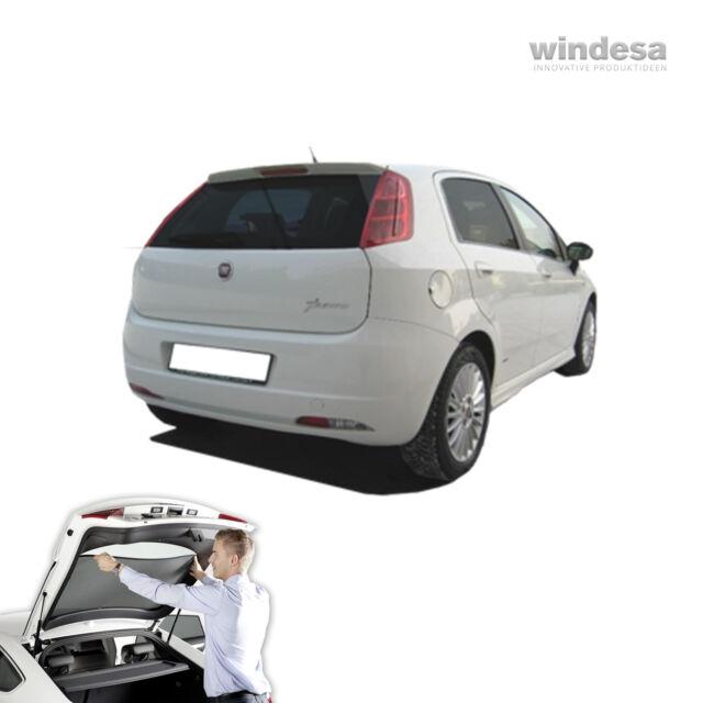 Fiat Grande Punto 5door 2005 Car Sun Shade Blind Screen Tint Tuning