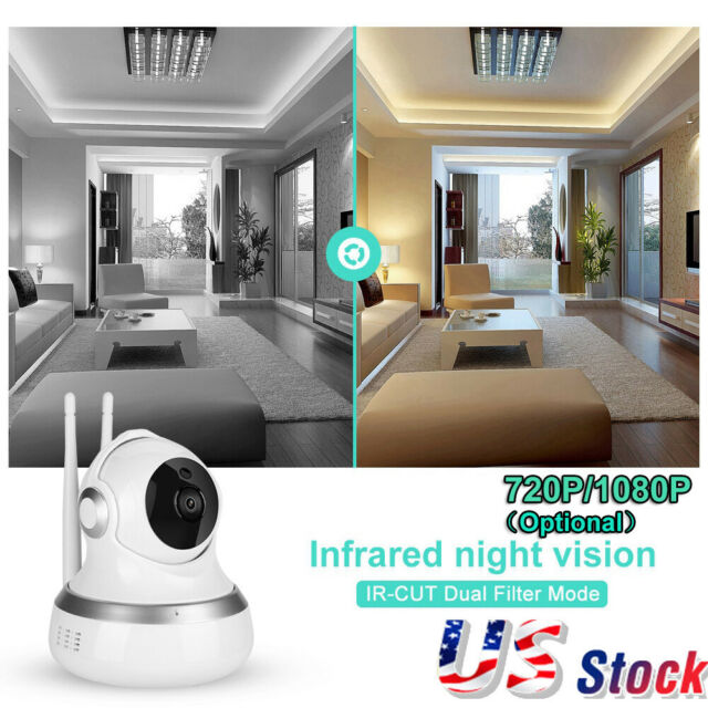 720P/1080P HD WiFi IP Cloud Security Surveillance Camera Wireless Night  Vision