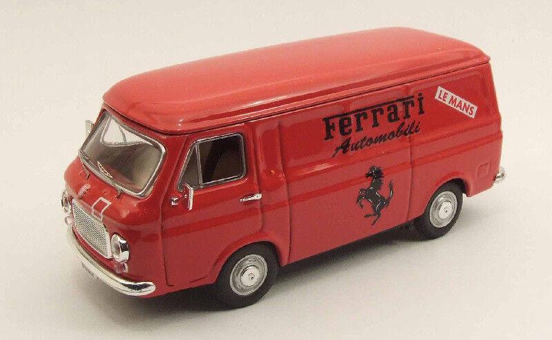 Fiat 238 Assistenza Ferrari Le Mans 1977 rouge Rio 1 43 Rio4339 Diecast