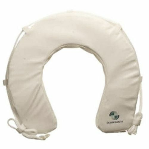 Soft Horseshoe Lifebuoy for your Boat - White