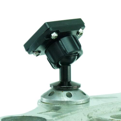 12mm hexagonal agujero Gps montaje encaja Honda Blackbird /& Kawasaki Motos Para Arko