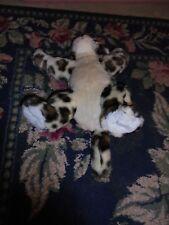 Build a Bear stuffed animal plush leopard toy BABW used jungle animal