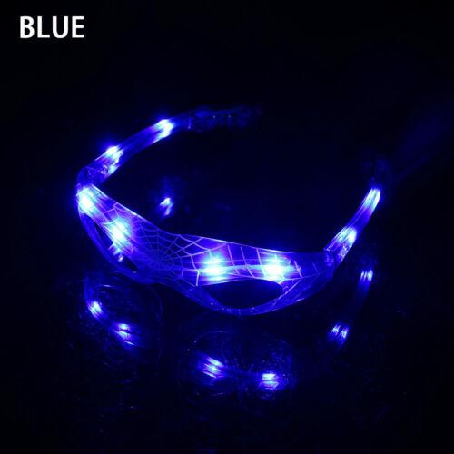 style Dance Bar Party Supplies LED Glow Luminous Neon Light  Stylish Glasses
