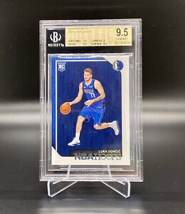 2018-19-PANINI-HOOPS-268-LUKA-DONCIC-ROOKIE-CARD-BGS-9-5-MINT