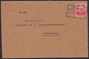 DR-Mi-Nr-519-EF-auf-Brief-mit-Sudentenland-Stempel-nach-Reichenberg-1938
