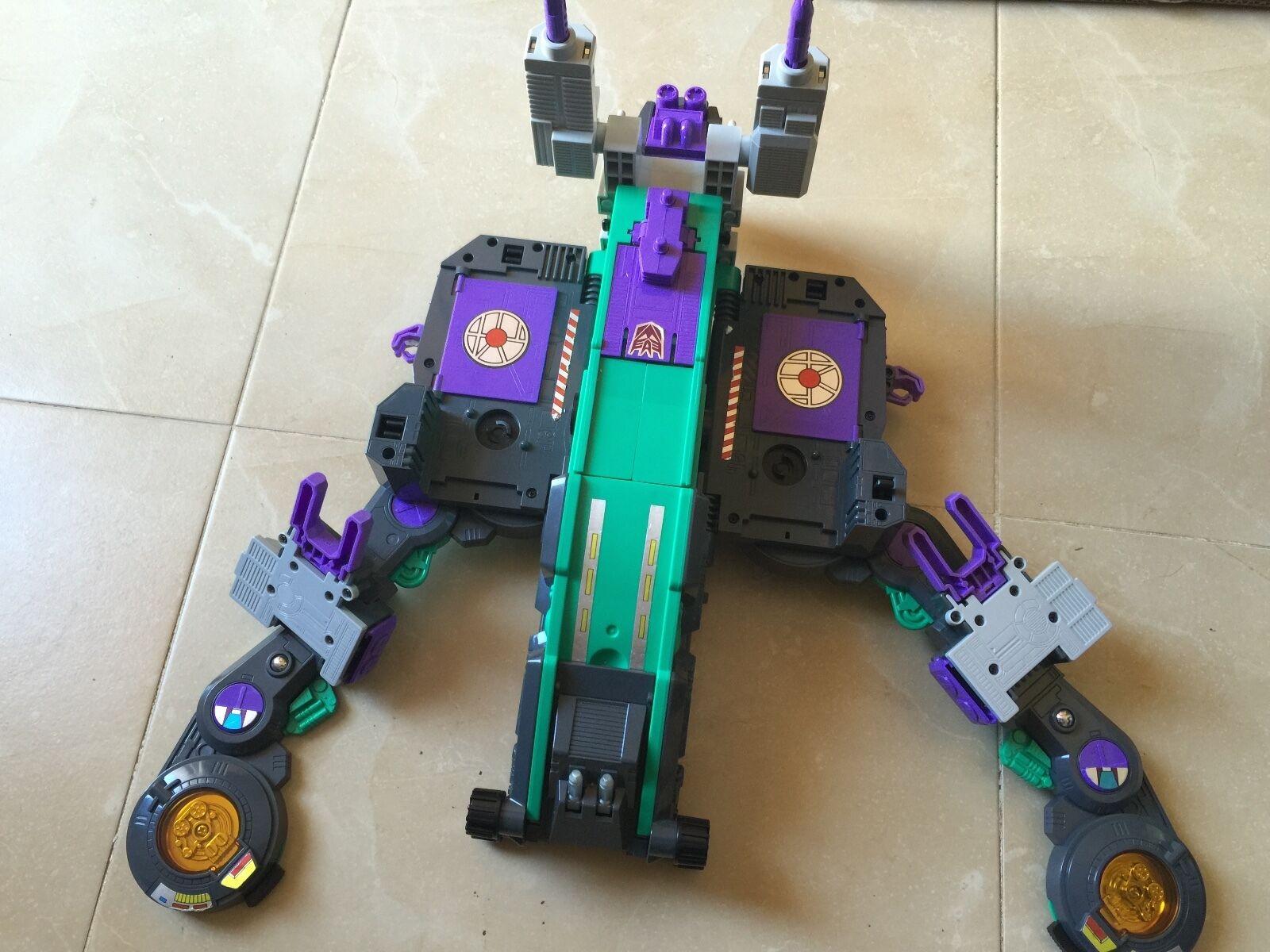 Transformers G1 1986 D-63 TRYPTICON figure body MINT works japan takara
