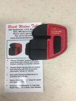 Wilson Black Widow Leather Split Finger Shooting Tab Right Hand Large