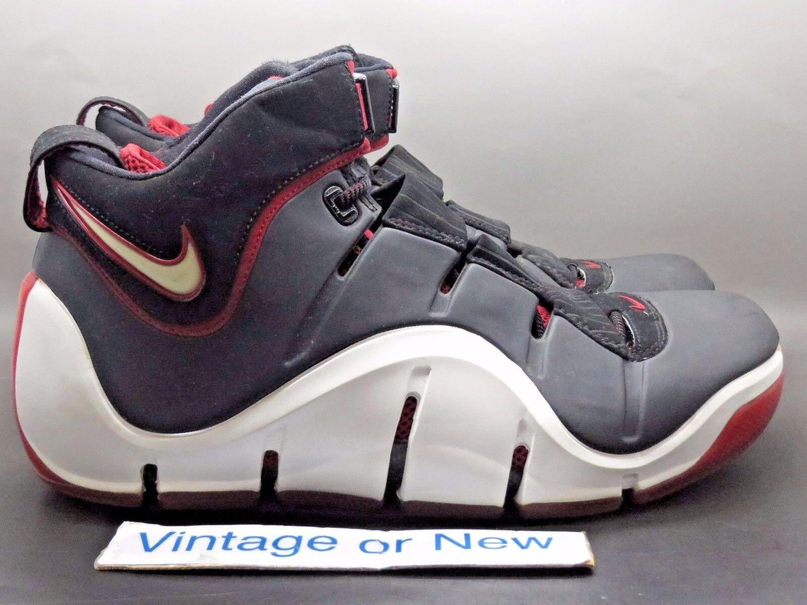 Nike 4 zoom lebron iv 4 Nike schwarz - weiß - uni - 2006 sz 11,5 7cb269