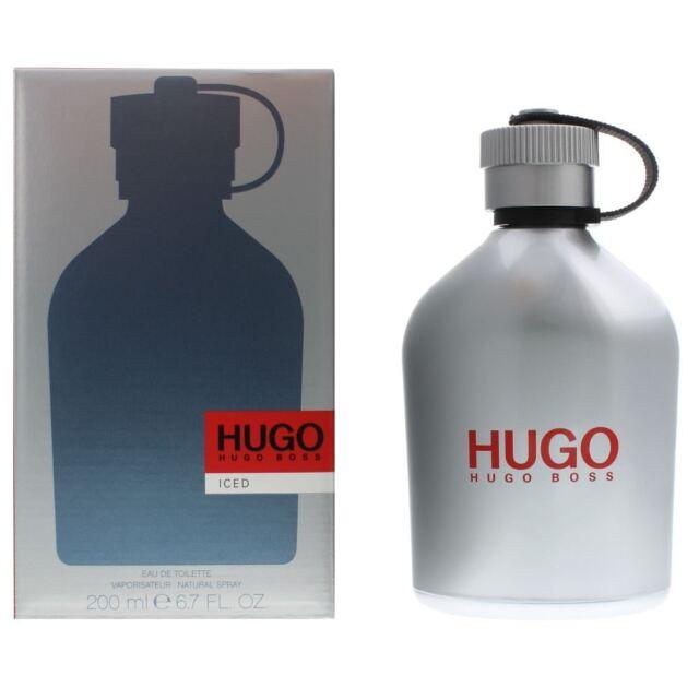so cheap super popular wholesale dealer Original Hugo Boss Iced Eau De Toilette 200ml Perfume for Men