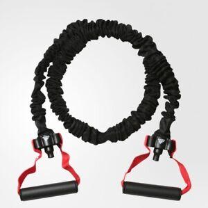 Matemáticas dieta flor  Tubo de alimentación Adidas nivel 2 adtb - 10602 Negro Rojo Expansor de  Fitness Gimnasio Ejercicio | eBay