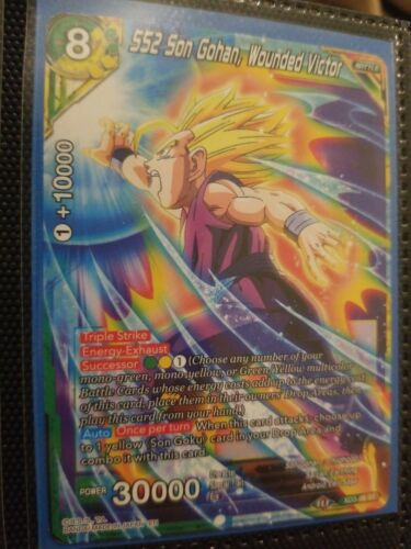 SS2 Son Gohan Expert Deck Near Mint Dragonball Wounded Victor XD3 ...