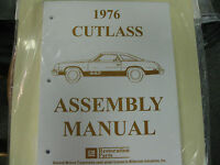 1976 Cutlass, 442 (all Models) Assembly Manual