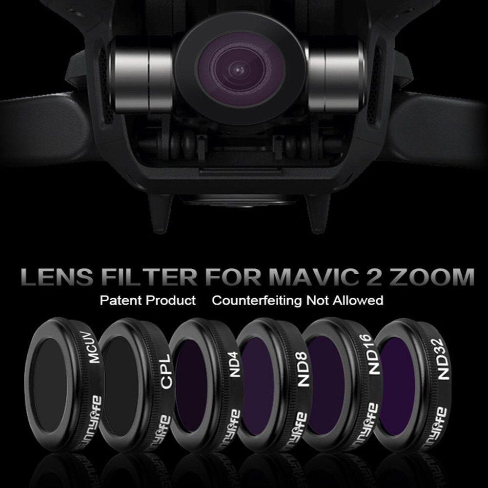 Camera Camera Camera Lens Filter CPL MCUV ND4 ND8 ND16 ND32 Repair for DJI Mavic 2 ZOOM Drone 1e54be