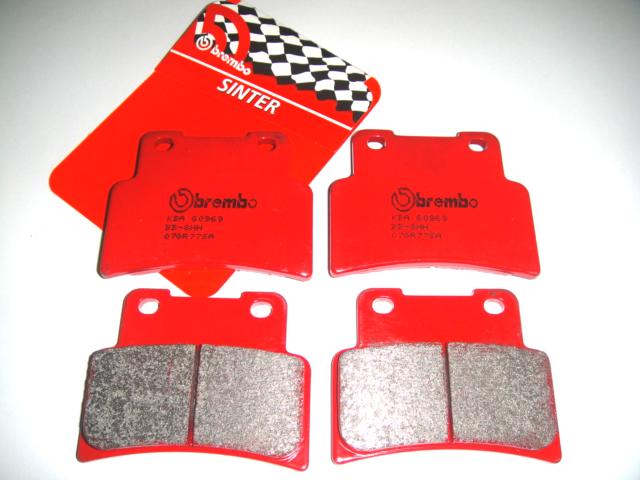 4 Front Brake Pads BREMBO 07GR77SA Aprilia Sl Shiver Gt-Abs 750 2009