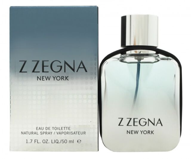 ERMENEGILDO ZEGNA Z ZEGNA NEW YORK EAU DE TOILETTE 50ML SPRAY - MEN'S FOR HIM