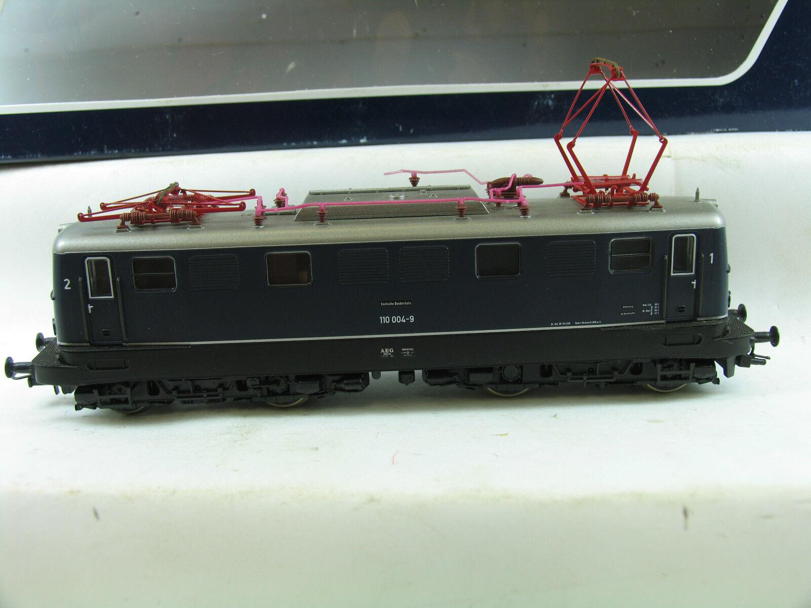LIMA HL 2003 E-Lok BR 110 004-9 blu della DB eh341