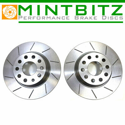 VOLVO S40 V40 T4 FRONT /& REAR DIMPLED GROOVED BRAKE DISCS MINTEX PADS NEW